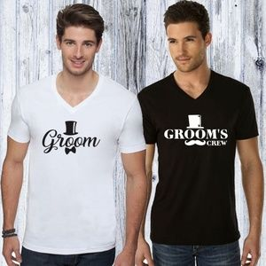 Bachelor Party Groom and Groom's Crew T-Shirts